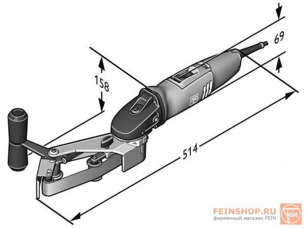 Набор для труб Fein Start RS 10-70 E