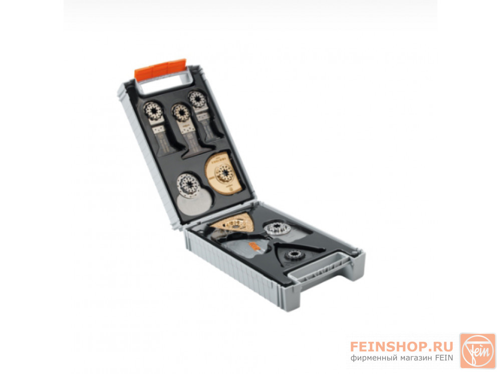 Инструмент осциллирующий Fein MultiMaster QuickStart FMM 350 QSL + Комплект Best of Starlock RENOVATION