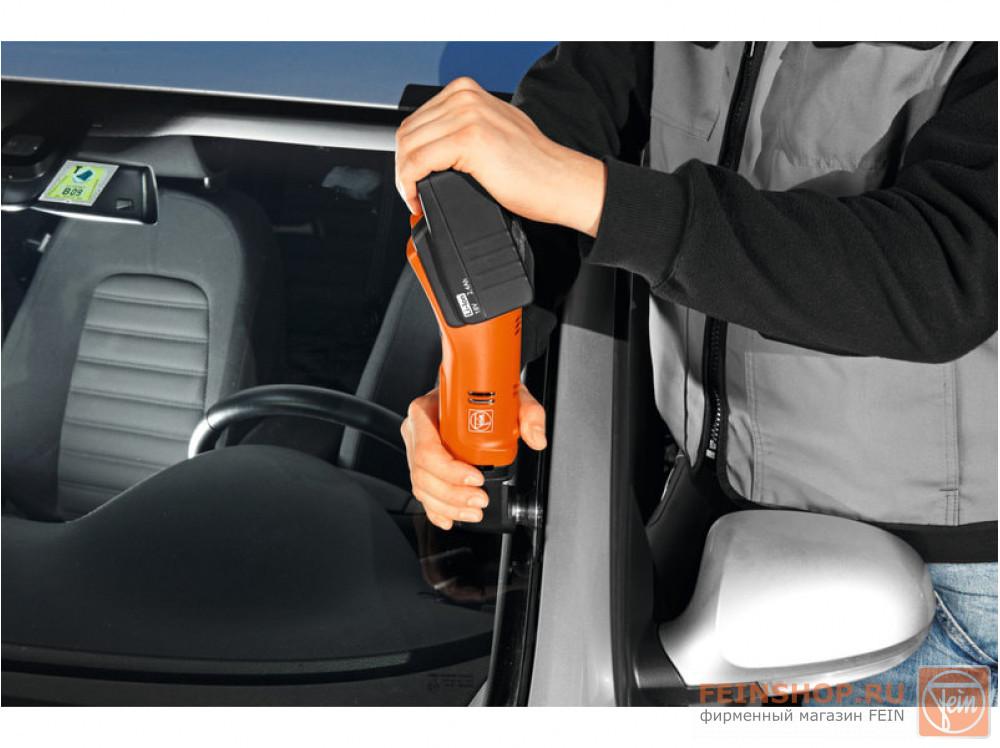 Инструмент осциллирующий аккумуляторный Fein AFSC 18 для автосервиса