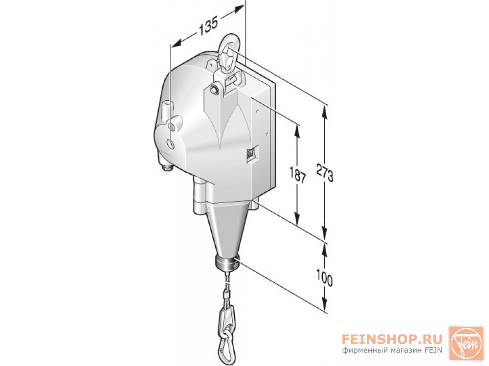 Балансир Fein 13,5-17 кг