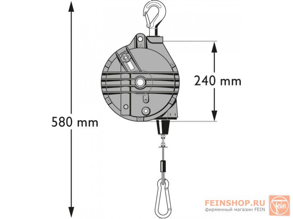 Балансир Fein 13-25 кг
