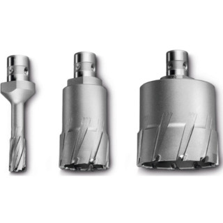 Корончатое сверло Fein HM Ultra с хвостовиком QuickIN, 21/75 мм