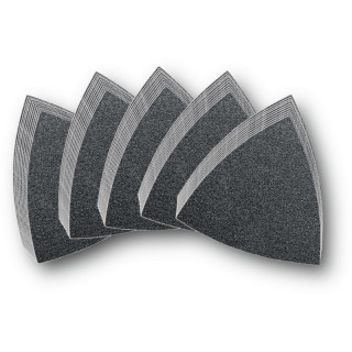 Набор дисков из абразивной шкурки без перфорации Fein, зерно 60, 80, 120, 180, 240, 50 шт