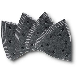 Набор дисков из абразивной шкурки Fein, зерно 60, 80, 120, 180, 16 шт