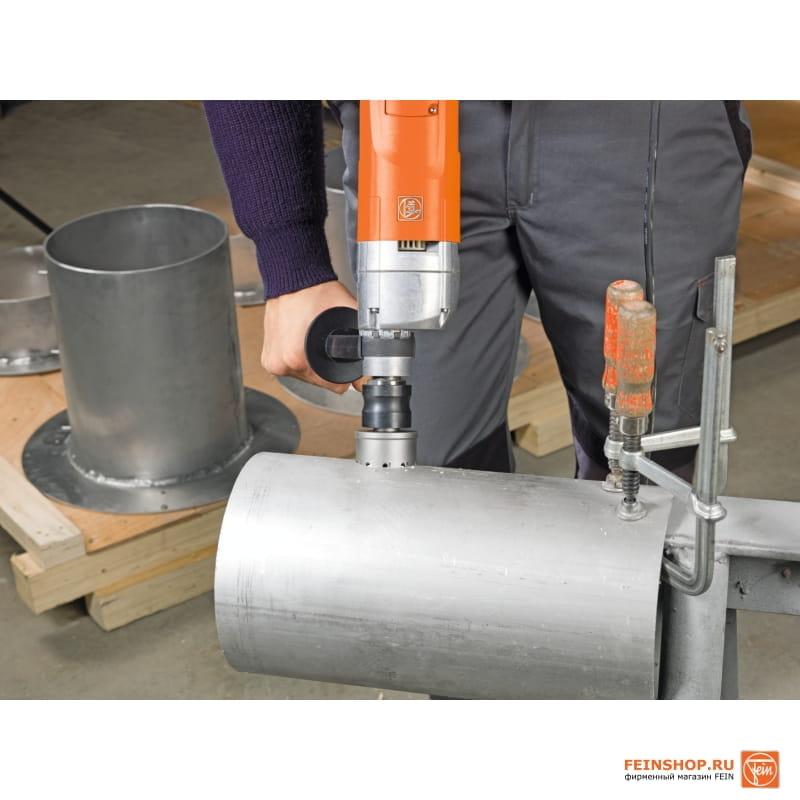 Как сделать отверстие без дрели в металле